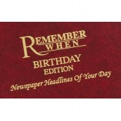 Personalised Birthday Newspaper Hardback