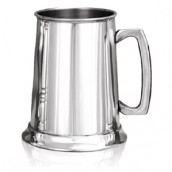 Engraved 1 Pint Pewter Tankard