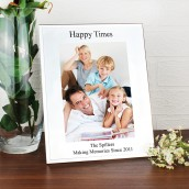 Glass Mirror Bevelled Photo Frame