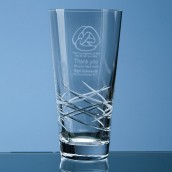 Engraved  Traditional Crystal Vase