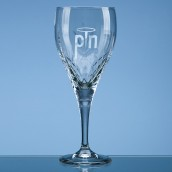 Personalised Traditional Lead Crystal Wine Glass