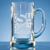 Personalised 2 Pint Straight Sided Tankard