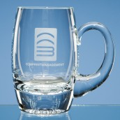 Personalised Plain Barrel Tankard