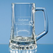Personalised Half Pint Stem Tankard