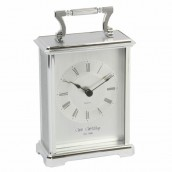 Personalised Carriage Clock