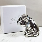 Personalised Disney Eeyore Silver Plated Money Box