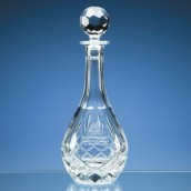 Personalised Lead Crystal Decanter