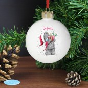 Personalised 'Me to You' Christmas Bauble