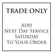 Trade Only - Express Service Saturday Delivery