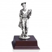 Pewter Graduation Award - Male