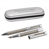 Engraved Stratton Champagne Pen