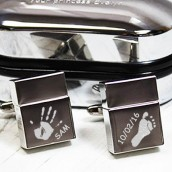 Handprint USB Cufflinks