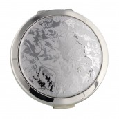 Personalised Silver Lorelei Design Compact Mirror