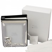 Personalised Twinkle Twinkle Silver Plated Photo Album