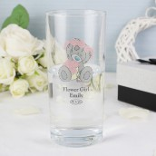 Personalised Female Wedding Me To You High Ball Glass