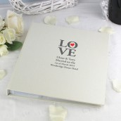 Personalised Love Photo Album
