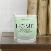 Personalised Home Scented Candle In A Jar