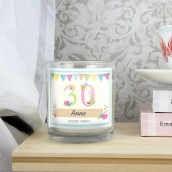 Personalised Birthday Scented Candle In A Jar