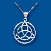 Silver Celtic Trinity Knot Pendant