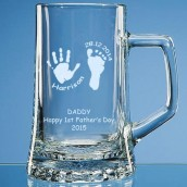 Personalised Handprint Tankard