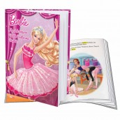Personalised My Adventures with Ballerina Barbie Book
