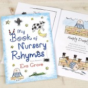 Personalised Nursery Rymes Book