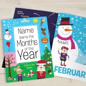 Learn The Months Of The Year Personalised Book