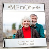 Silver Memories Photo Frame