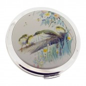 Personalised Bird Heritage Compact Mirror