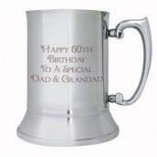 Message Engraved Beer Tankard