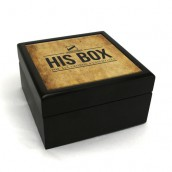 Personalised Keepsake Box for Gentlemen
