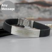 Engraved Male Bracelet