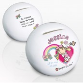 Personalised Groovy Chick Money Box