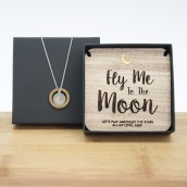 Personalised Keepsake and Necklace Gift Set