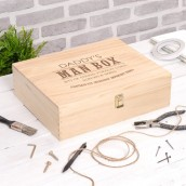 Personalised Man's Keepsake Box