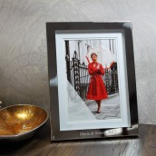 Personalised Mounted Photo Frame