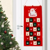 Personalised Pocket Santa Advent Calendar
