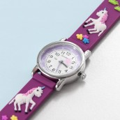 Engraved Unicorn Watch