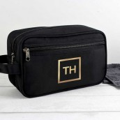 Personalised Mens Wash Bag