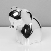 Silver Plated Elephant Money Box