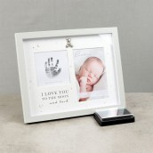 4  x 6    Bambino Hand Print Frame with Ink Pad
