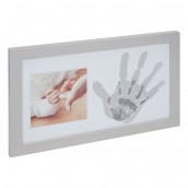 BAMBINO BY JULIANA  Mother & Baby Hand Print Photo Frame