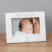 6  x 4    Bambino Resin Daddy & Me Photo Frame