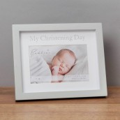 4  x 6    Bambino My Christening Day Frame in Gift Box