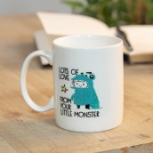 World's Greatest Daddy Your Little Monster Stoneware Mug