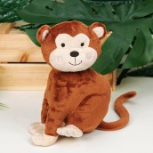 Jungle Baby Plush Chester the Monkey Toy 21cm