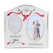 Double Aperture 40th Anniversary Photo Frame