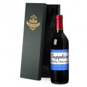 Personalised 45th Anniversary Red Wine