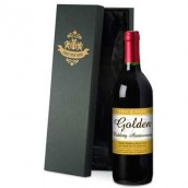 Personalised 50th Anniversary Red Wine