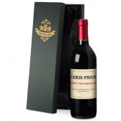 Personalised Father's Day Classic Red Wine